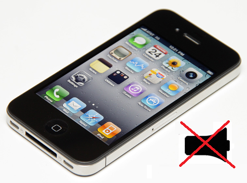 thay loa trong iPhone 4, 4s