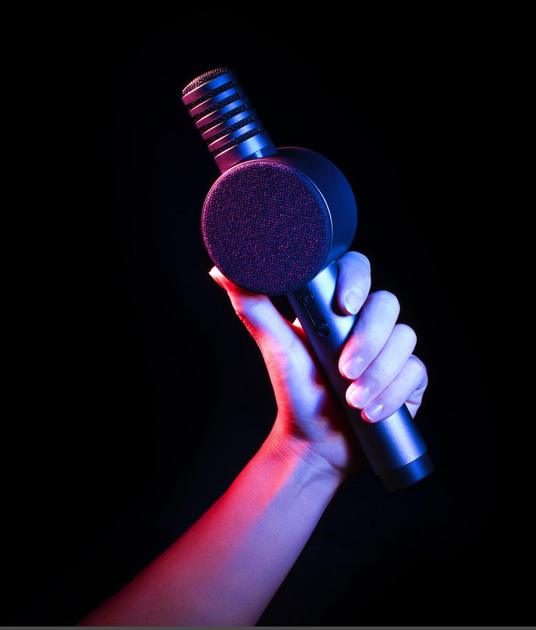 Micro Karaoke kèm loa Bluetooth X3
